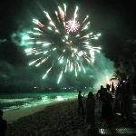  new years eve celebration at glitter bay
