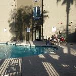 nice pool with shadow and sun
