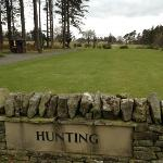  1st tee of &#39;The Hunting Course&#39; golf course