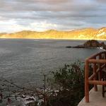 sunset time at casa buque