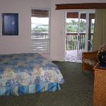  master bedroom with door out to lanai