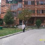 Rapti Chatterjee with Unforgettable  Views of Hotel Brown Palace