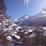 View from the chalet over the village