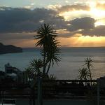  coucher de soleil sur Funchal