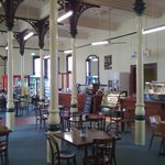Junee Railway Station cafe. A great spot for breakfast and lunch