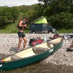 We do canoe & bike hire too.