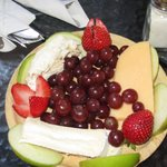 Fruit and Cheese Plate