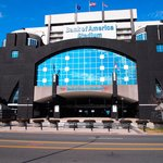 Front of Bank of America Stadium