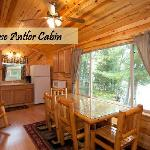 Newly remodeled lakeside cabins