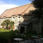 The cosy Inn.... and lawn