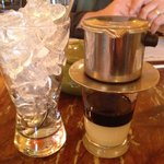 Vietnamese coffee at 