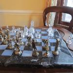 A nice spot for a game of chess