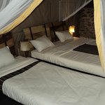 Robanda Safari Camp, room inside