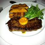  steak and chips - delicious