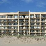 Seabreeze is a beachfront complex: all units face the ocean