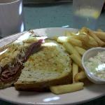 Rueben Sandwich platter-very good