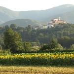 View to San Ginese from the house