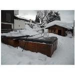 Hotel Christiania's hot tubs and ski store
