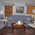 Seating Area in the Bedroom at Pack House Inn B&B