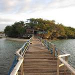 Wooden bridge at Quezon island