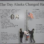 Site where Alaska changed hands