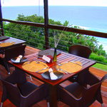 Your Table on the Restaurant Deck