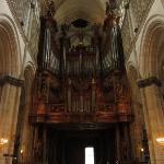 Fine organ in the Cathedral