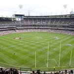 The 2011 AFL Grand Final at the MCG.