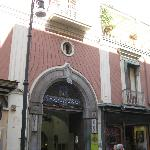  Entrance to Hotel Corso