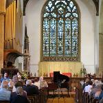 A concert in St Edmund's Church, Acle