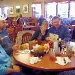  Family enjoying a meal at Ryan&#39;s of Surfside, SC