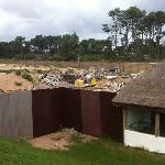 this is the Paradise Punta Del Este Hotel....not built as of Feb 12