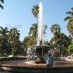 Fountain in Plaza Nuñez