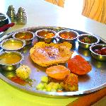 The wholesome Nataraj Thali