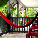 Relax in your own hammock (Premium rooms)