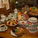 Continental Breakfast at Chickadee Pines B&B