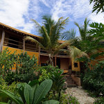 Tropical Garden surounds our Guest House