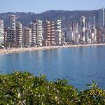  Levante beach side where Rh Sol is situated