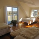 Master suite - clean, sunny, & bright w/farm & river views