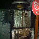 chimney vent from kitchen spewing grease and foul smells