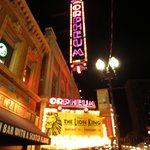Lion King at the Orpheum.