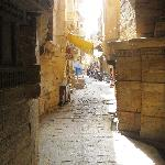 Jaiselmer - street in the Old City