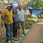 Luis, Ana Luisa, and Miguel. Wonderful hosts, wonderful people.