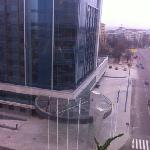 view from Hotel Kharkov