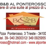  B&amp;B AL PONTEROSSO - TRIESTE -
