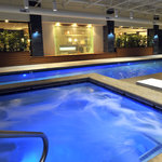 Our brand new pool & hot tub - Holiday Inn & Suites Charleston West