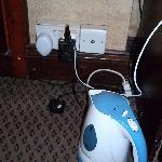  The only plug socket which was loose with a mouse and rat repeller plugged into it!