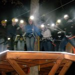 Zip Line at Night! Try the Night Hops!