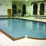 Adult pool, whirlpool, and suana are standard for a hotel of this size.