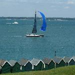 Sailing off the green by The Woodvale